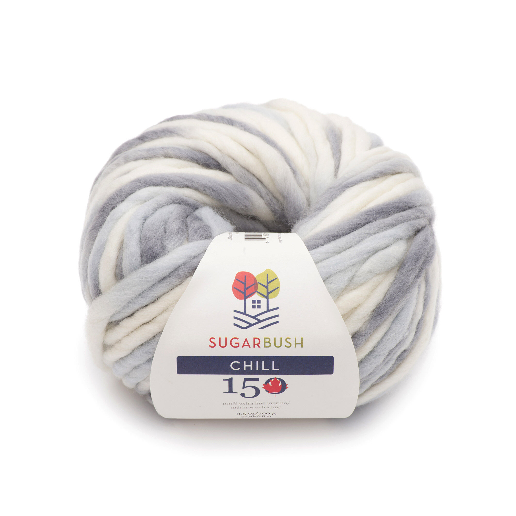 Sugar Bush Chill Yarn, Arctic Frost