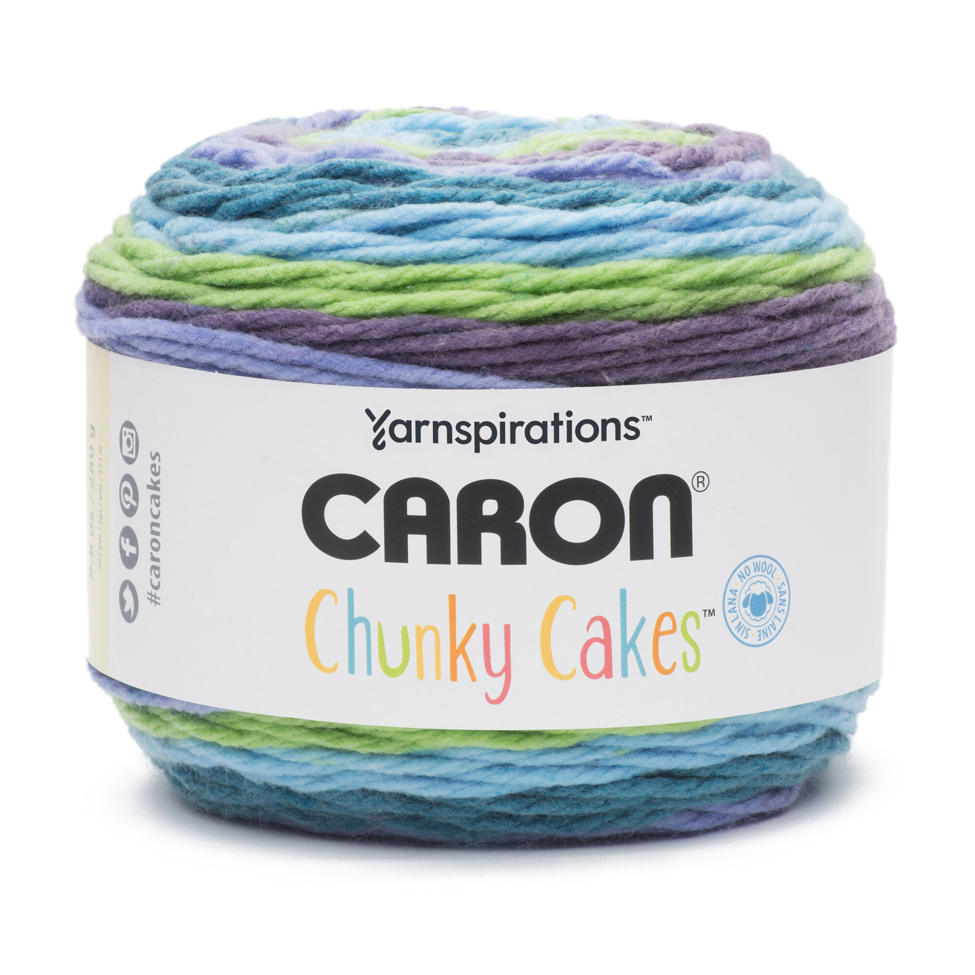 Caron Chunky Cakes Yarn Twist Of Lime Yarnspirations