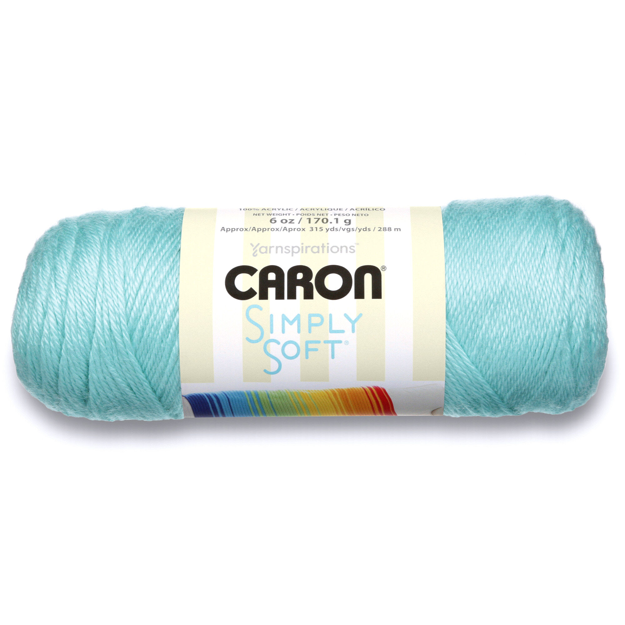 Caron Simply Soft Yarn, Robin's Egg