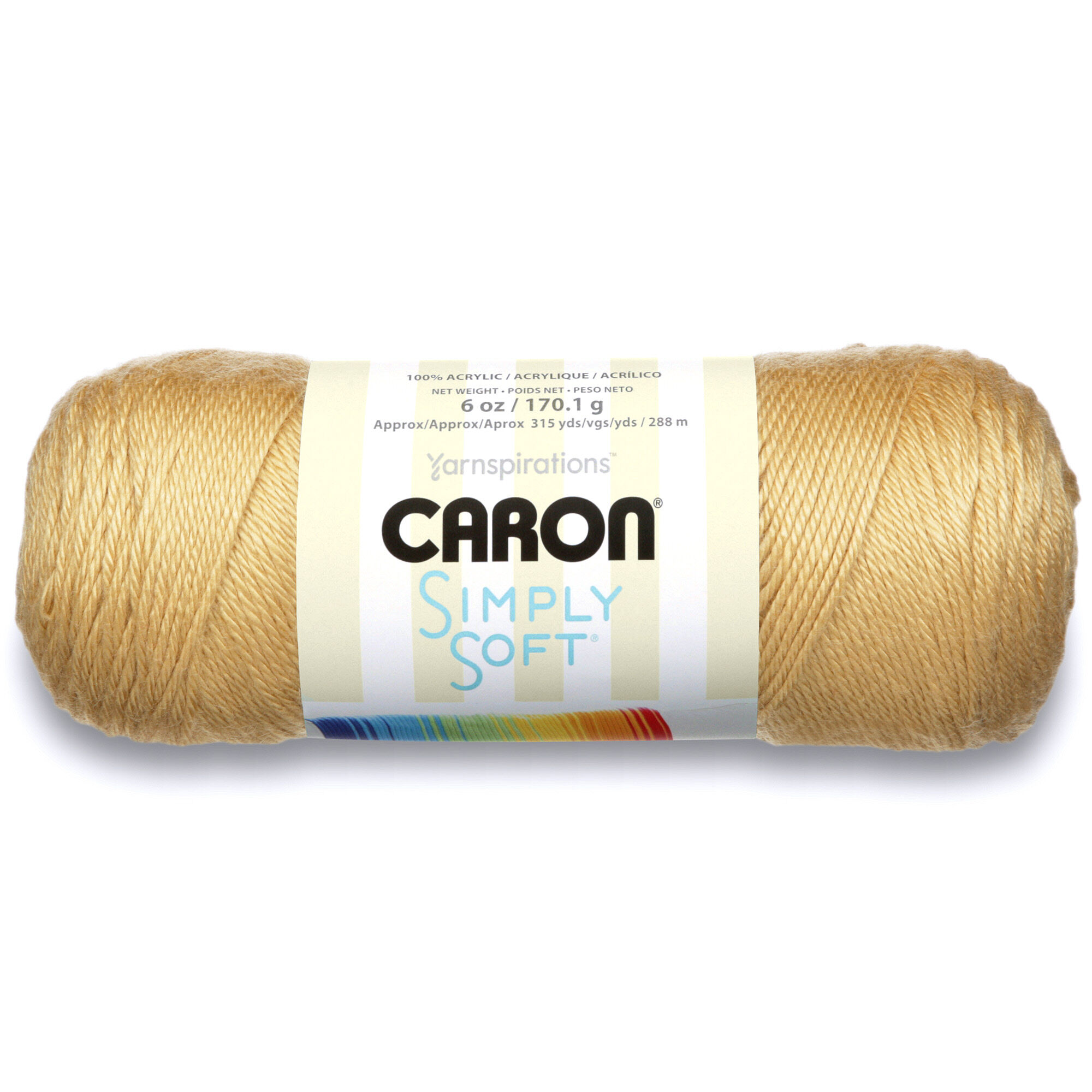 Caron Simply Soft Collection Yarn, Autumn Maize