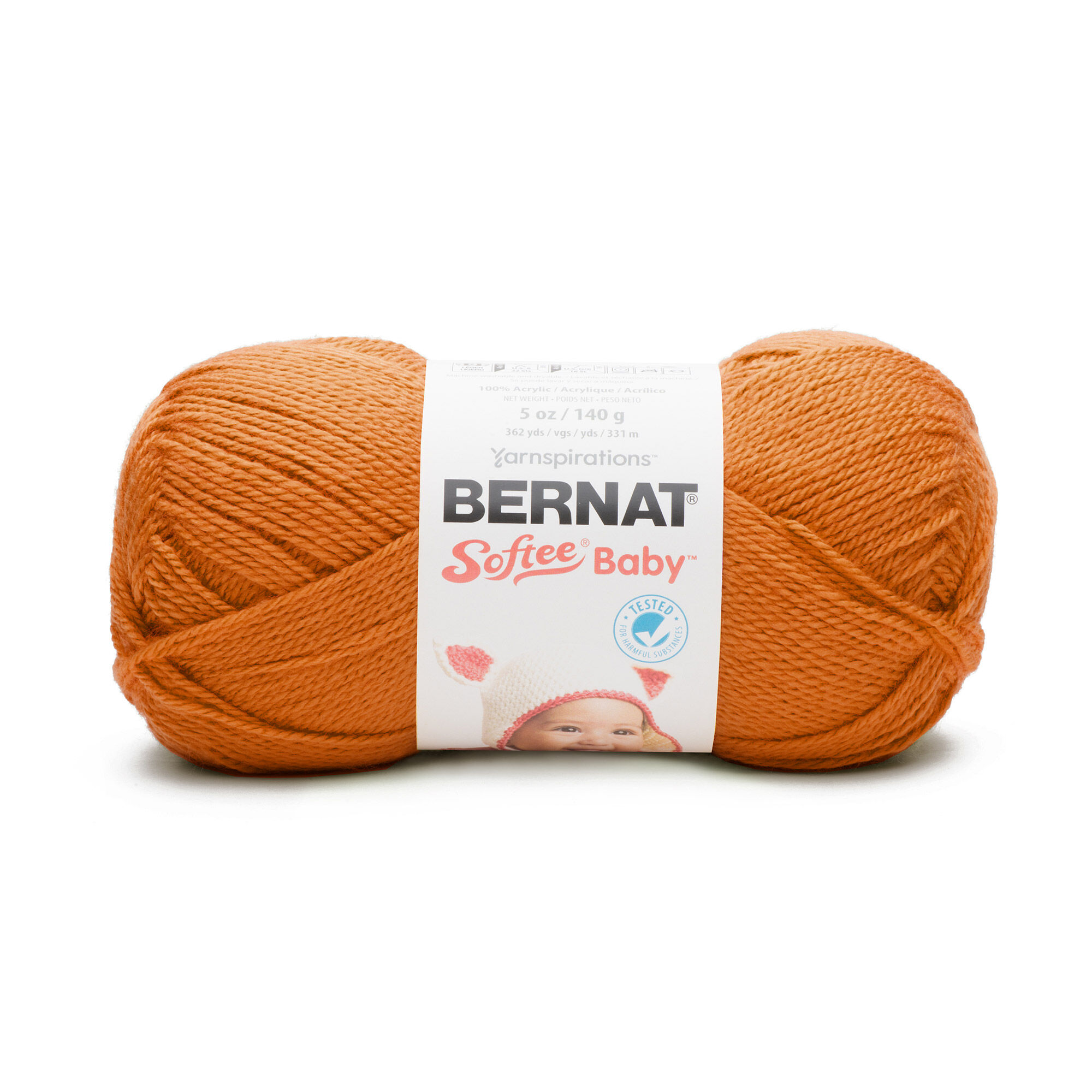 Bernat Softee Baby Yarn, Pumpkin