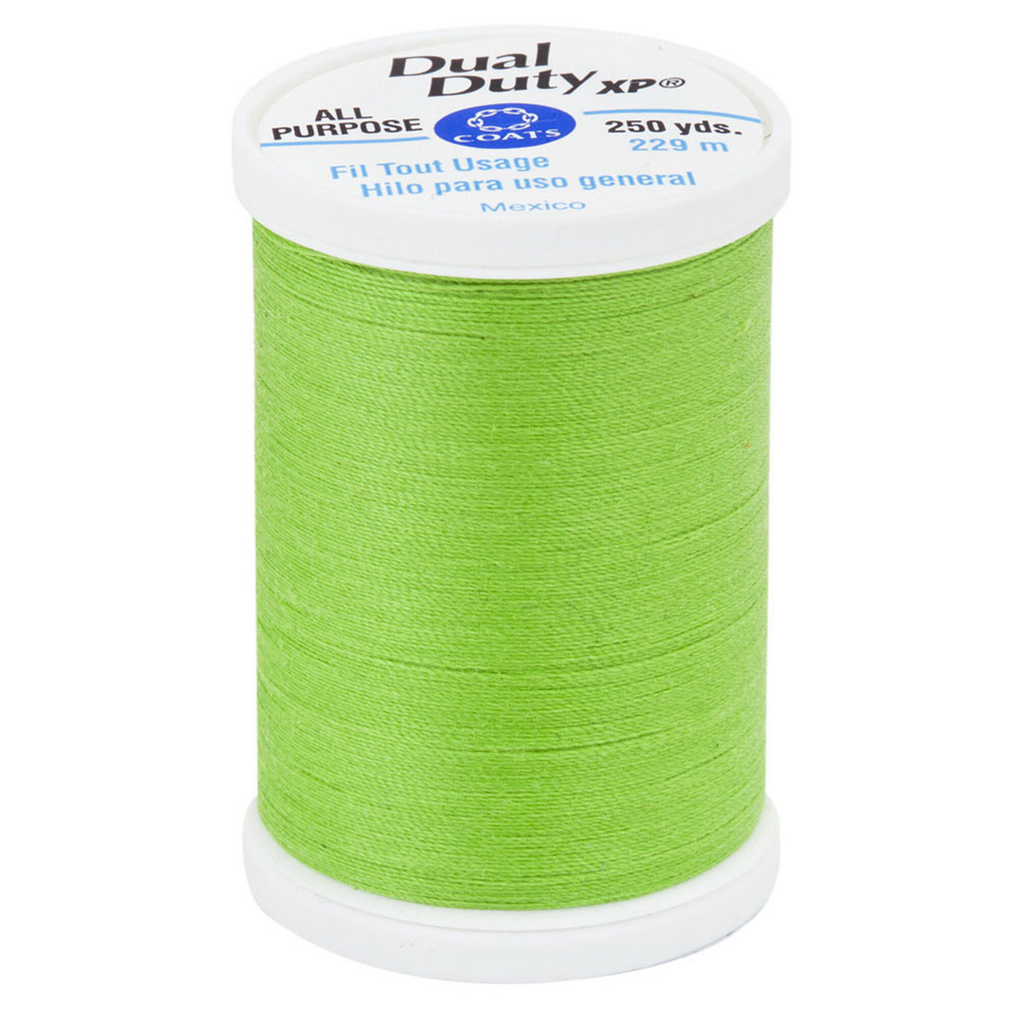 Dual Duty XP All Purpose Thread 250 yds, Lime