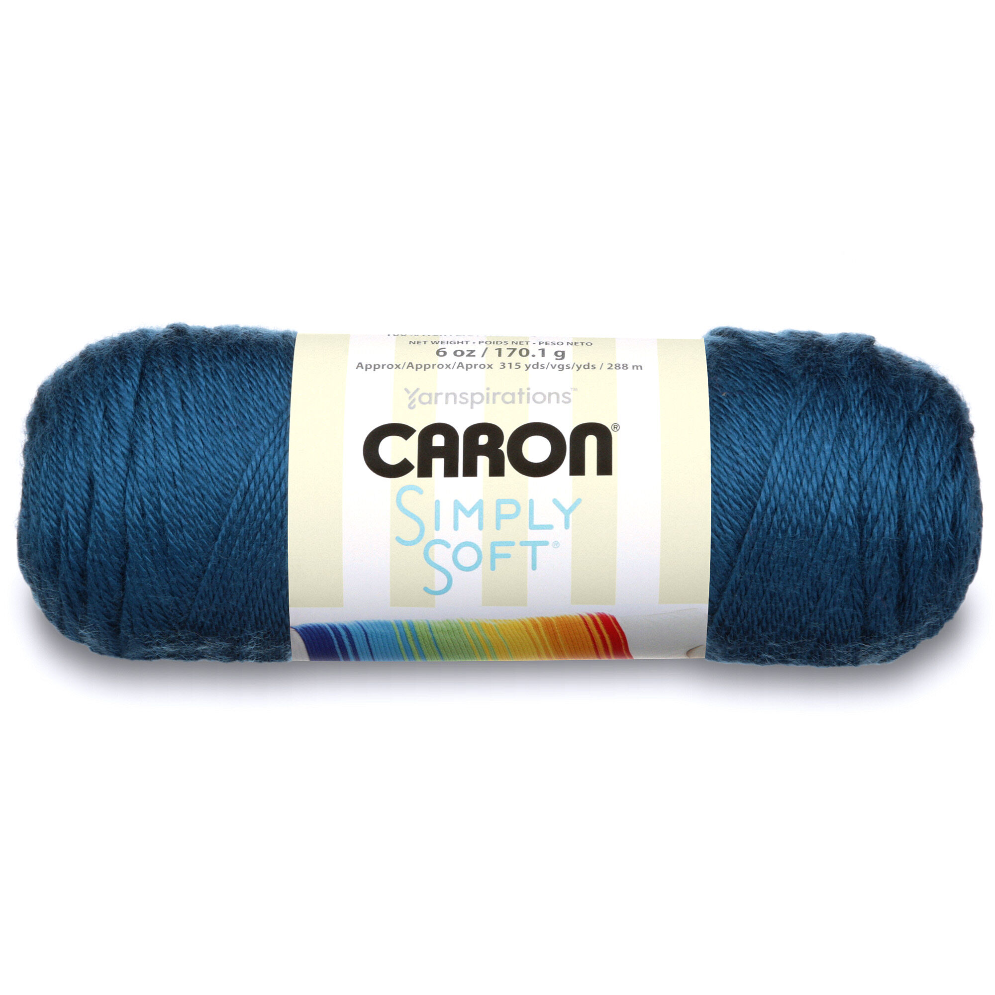 Caron Simply Soft Yarn, Ocean